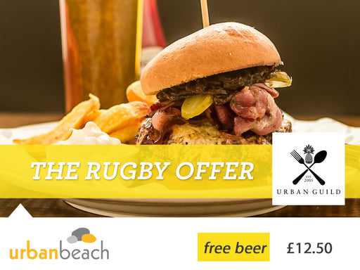 Rugby offer at Urban Beach Hotel
