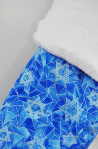 Stained Glass Hanukkah Stocking