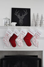 Classic Red Christmas Stockings