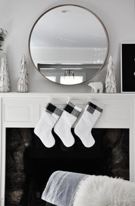 Modern Farmhouse Christmas Stockings
