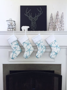 Starfish Christmas Stockings