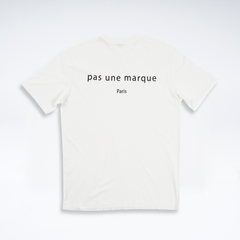 Pas Une Marque Oversized Tee With Red Stitching On Neckline