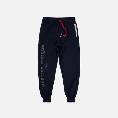 Oversized Sweatpant: Bloc