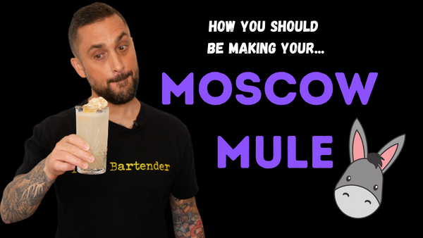 This is how you SHOULD be making a Moscow Mule