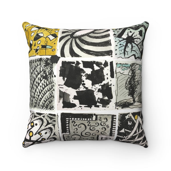 TribalTiles Square Pillow