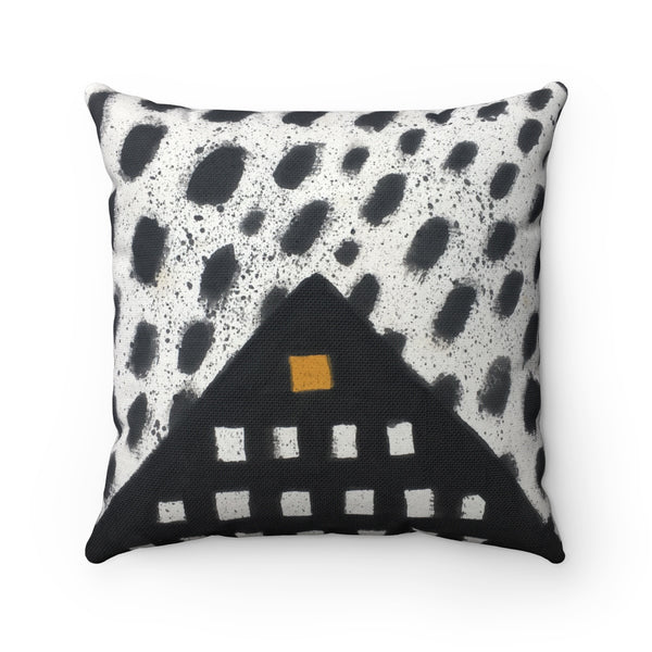 Pyramid Square Pillow