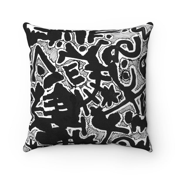 View from Above Square Pillow Case
