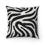 Zebra Square Pillow