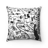 Tribaltown Square Pillow Case
