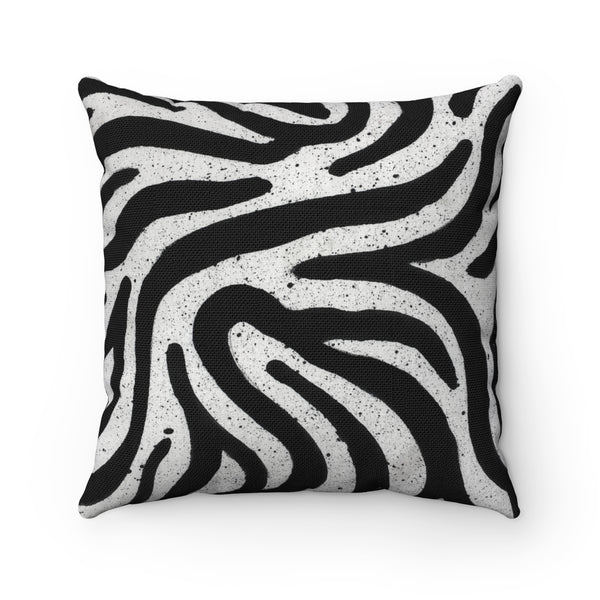 Zebra Small Square Pillow Case