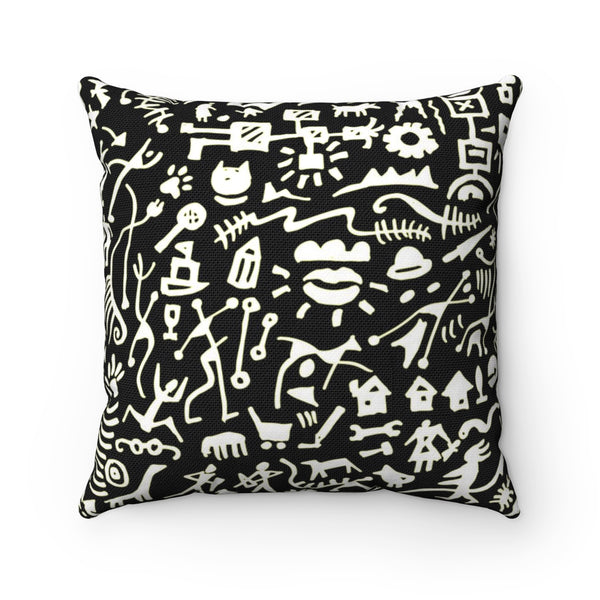 Busy Busy  Square Pillow Case