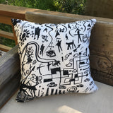 Tribaltown Square Pillow