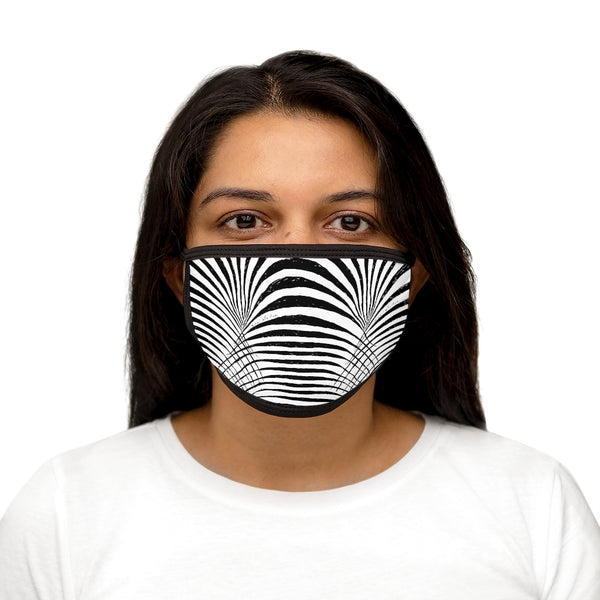 Okapi Mixed-Fabric Face Mask