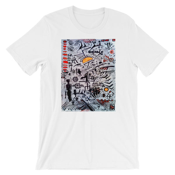 Abstraction Short-Sleeve Unisex T-Shirt