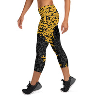 Jungle Capri Leggings