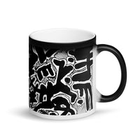 View from Above Matte Black Magic Mug
