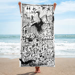 TribalTown Beach Towel