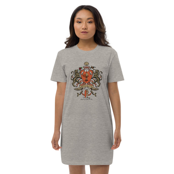 Malibu Royalty Organic cotton t-shirt dress