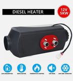 12V 5kW Diesel Air Heater 15L Tank for Caravan Camper Trailer Van Motorhome RV