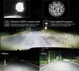 8.5 inch Led Spotlights With Laser Spot Beam 4wd 4x4 OFF-Road Osram led
