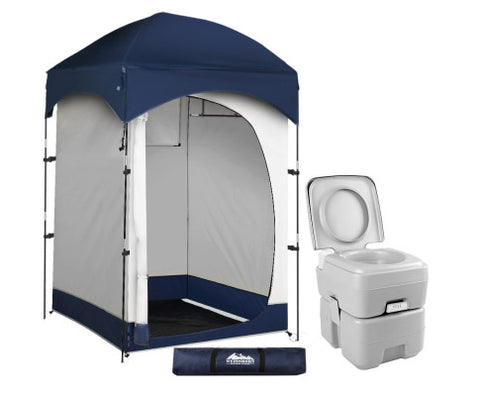 20L Outdoor Portable Toilet Camping Shower Tent Change Room Ensuite