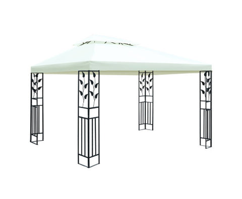 4x3m Marquee Outdoor Party Wedding Gazebos Tent Iron Art