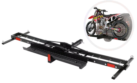 Motorcycle Carrier With 4 Tie Down Spots