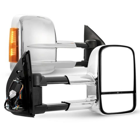 Pair Towing Mirrors Extendable for Isuzu D-Max 2012-2020 MY2