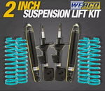 "2"" 50mm Lift Kit Webco Shocks Dobinsons Coil Springs for NISSAN Pathfinder R50"