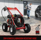10hp 4800psi 20m Hose Trade Quality Turbo Head Pressure Washer