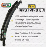 2 Inch Pre Assembled Lift Kit King Springs EFS Leaf for Mitsubishi Triton MQ 2015 on