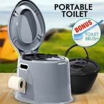 Outdoor Portable Toilet 6L Camping Potty Caravan Travel Camp Boating