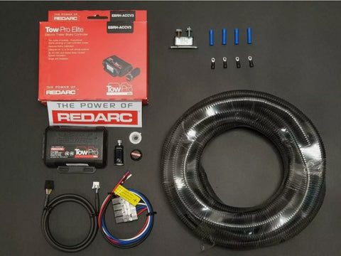 REDARC TOW-PRO ELECTRIC ELITE V3 REMOTE TRAILER BRAKE CONTROLLER+Brake Wiring