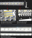 52 inch Straight Led Light Bar 1lux@500m