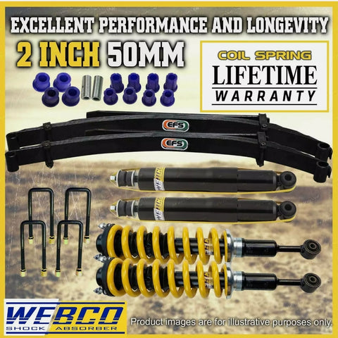 2 Inch Pre Assembled Lift Kit Shock King Springs EFS Leaf Volkswagon Amarok 10-ON