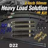 2 Inch Lift Kit EFS Leaf Constant Heavy Duty Load Option for Nissan Navara D22 1999 on