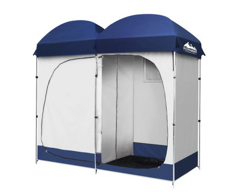 Double Ensuite Camping Shower Toilet Change Room Tent