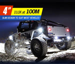 4 inch Work Led Light Bar 1 Lux @ 100M