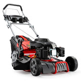 "AG Petrol Lawn Mower 220cc 18"" 4 Stroke Self Propelled"