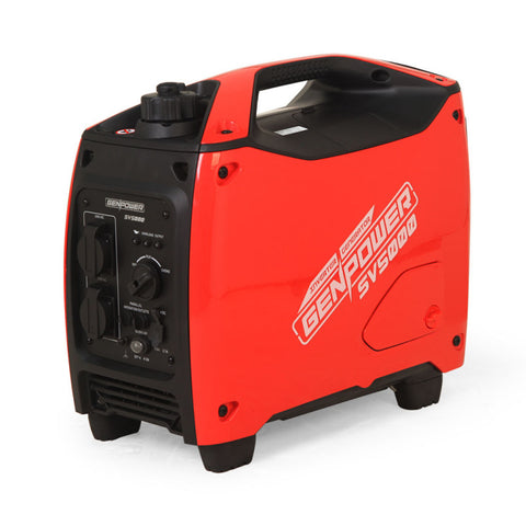 Inverter Generator 2500 Watts Max 2000 Watts Rated Portable Camping Petrol