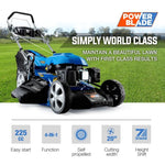 "Petrol Lawn Mower 225cc 20"" 4 Stroke Self Propelled"