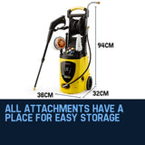 3800PSI Electric High Pressure Washer