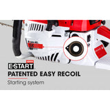 52cc Petrol Commercial Chainsaw 20  Bar E-Start