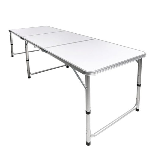 Folding Camping Table Aluminium Portable Picnic Outdoor Foldable Tables 180cm