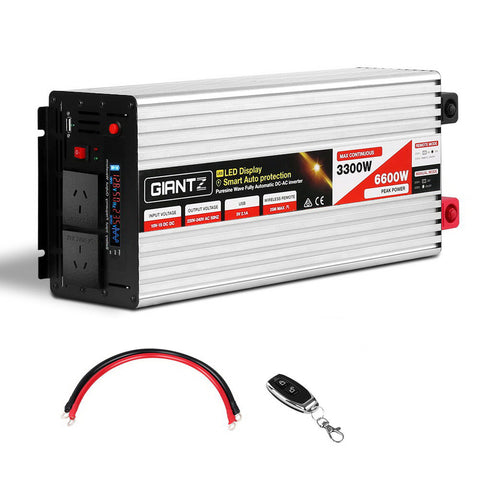 3300W/6600W Pure Sine Wave Power Inverter