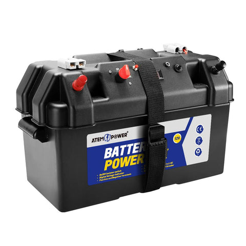 Battery Box 12V Portable Deep Cycle AGM