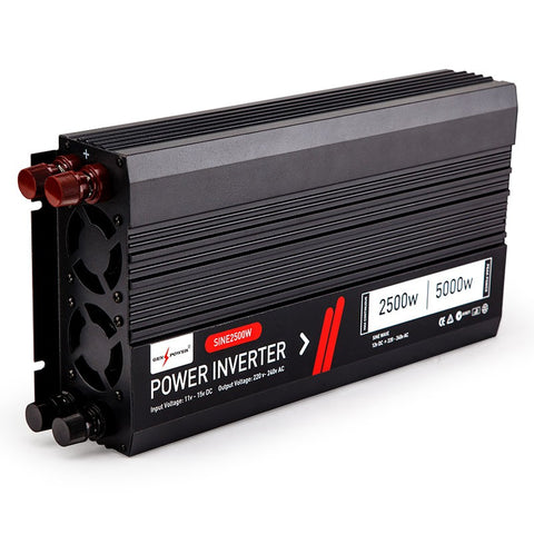 2500W/5000W 12V/240V Power Inverter Car Caravan Boat