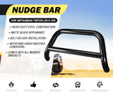 "Nudge Bar 3"" Stainless Steel Grille Guard For Mitsubishi Triton MQ OE"
