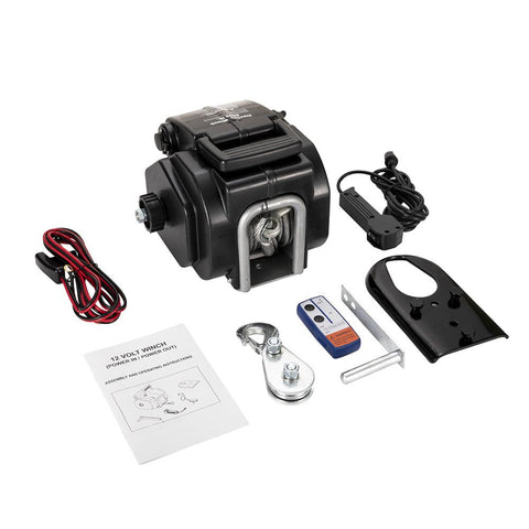 6500LBS 12V Electric Boat Winch