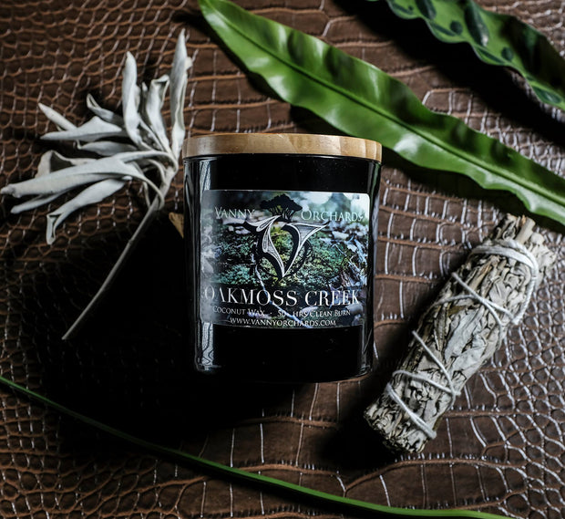 Oakmoss Creek Coconut Wax Candle